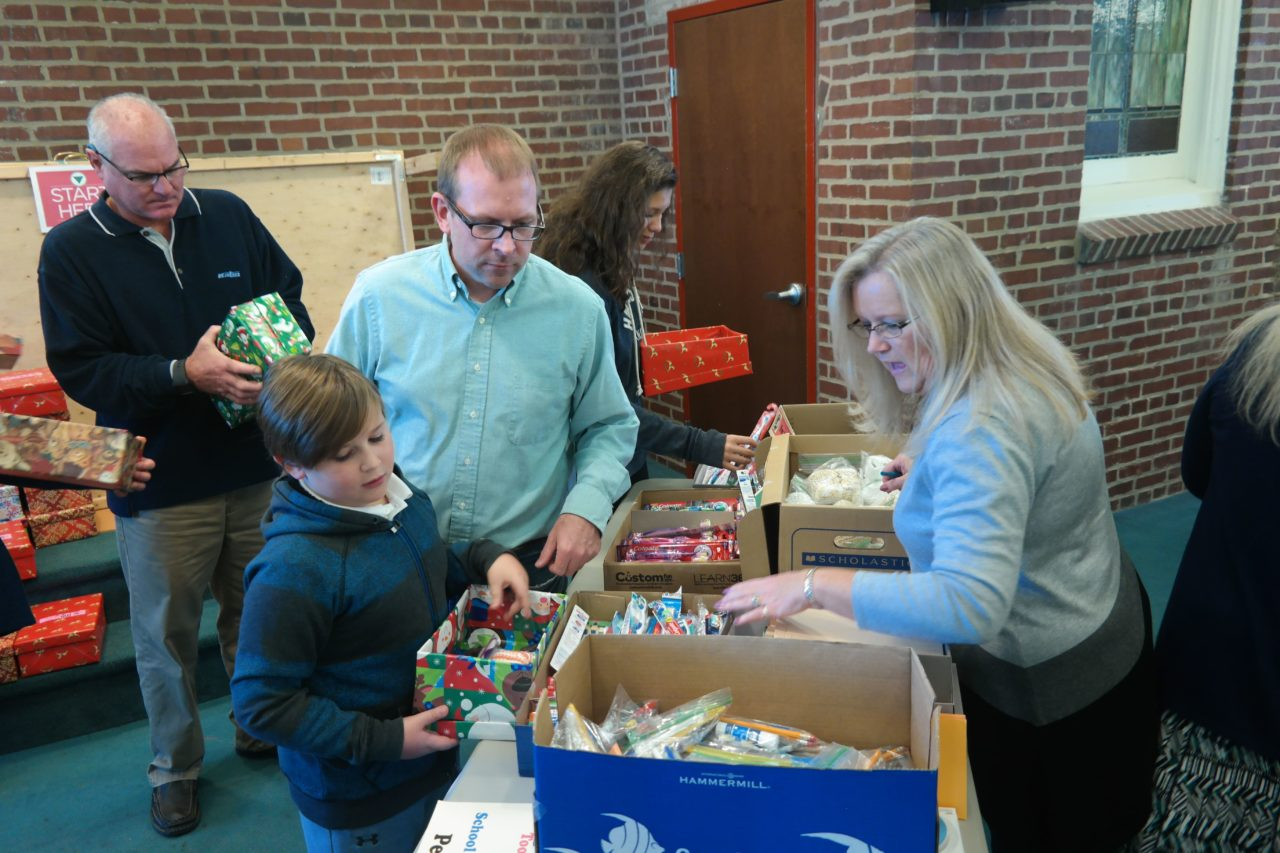 Samaritan's Purse – Operation Christmas Child 2018